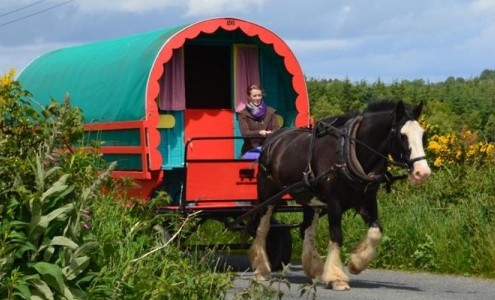 Review Clissmann Horse Caravans Boston Globe Travel