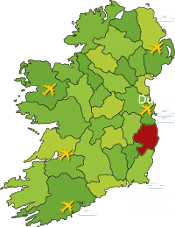 Clissmann Horse Caravans Map of Ireland-2
