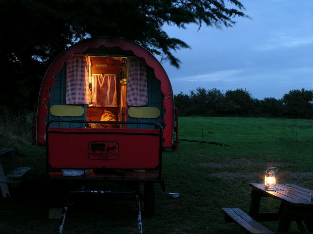 Clissmann horse Caravans Glamping Wicklow