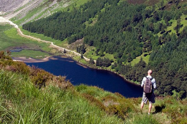The Guinness Lake, Lough Tay, Co. Wicklow