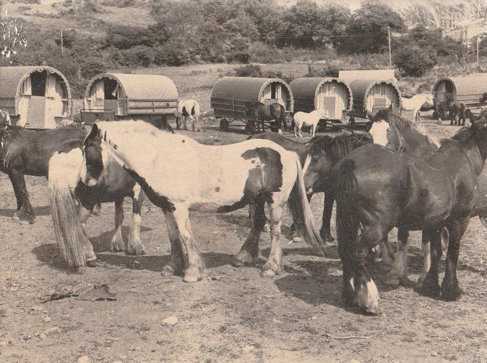 Clissmann Horse Caravans historical photos, Wicklow history