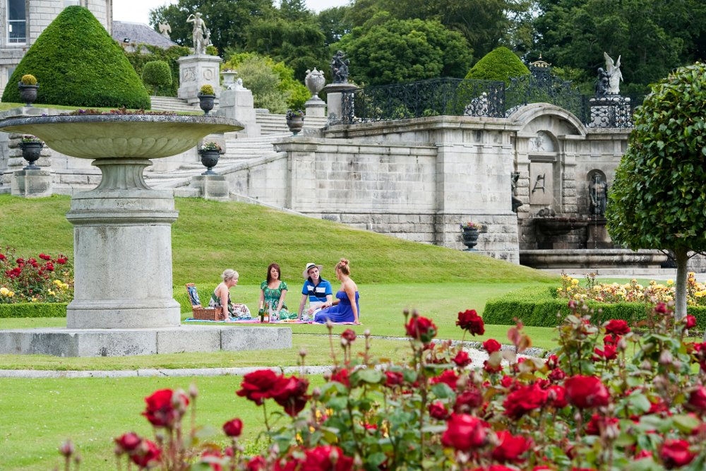 Powerscourt House and waterfall, Wicklow, Houses and gardens 2011 ...