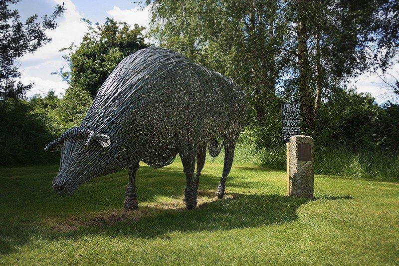 Greenan Maze and Farm Museum Sculpture