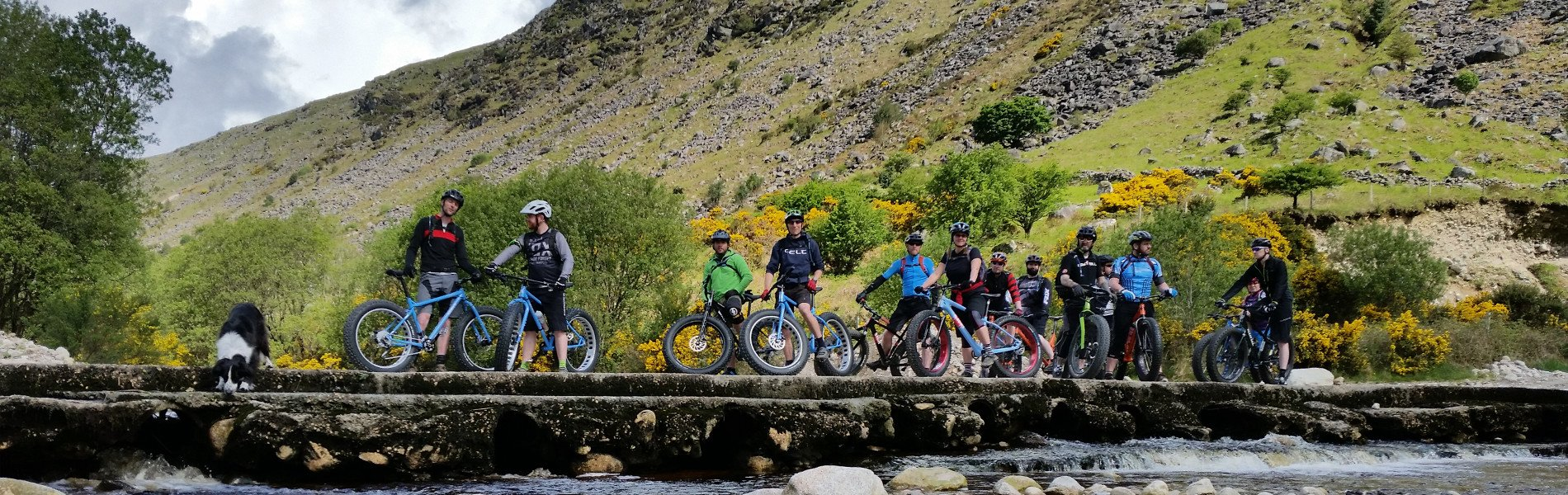 Biking in county wicklow