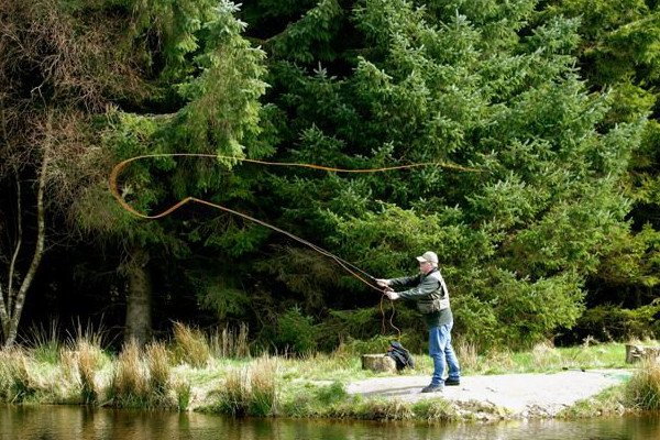 Fly fishing in Wicklow