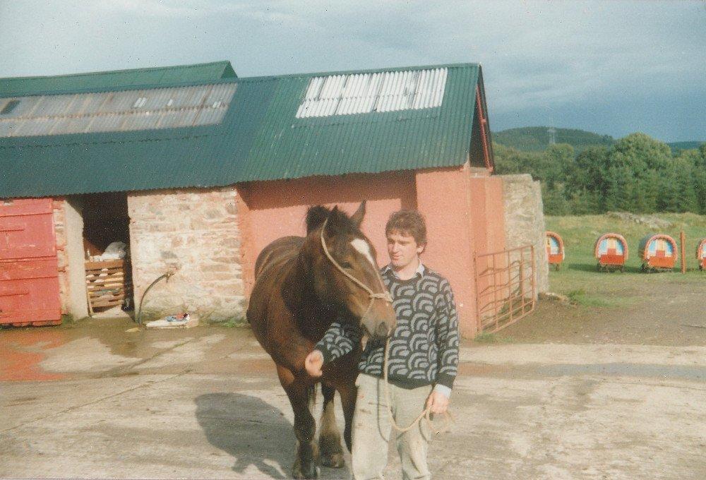 John Ulster history of Clissmann Horse Caravans