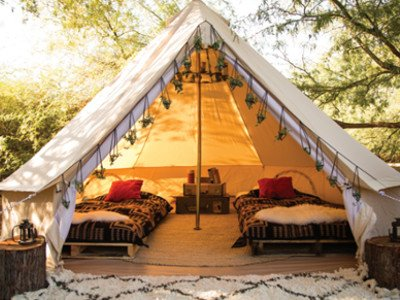 Glamping in Wexford Ireland