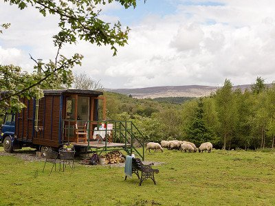 Glamping in Nire Valley, Waterford Ireland