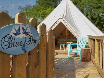 Glamping in Ireland Under the stars Laois