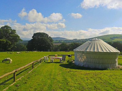 Old Forge Glamping in Wicklow Ireland
